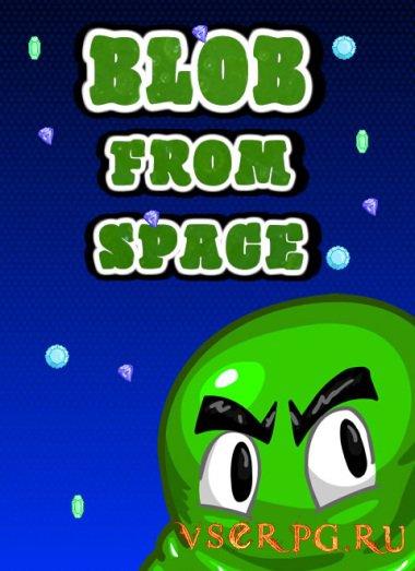 Постер игры Blob From Space
