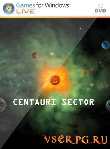 Постер игры Centauri Sector