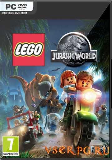 Постер игры Лего Мир Юрского периода