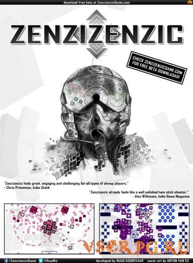 Постер игры Zenzizenzic