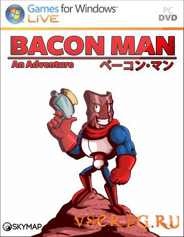 Постер игры Bacon Man An Adventure