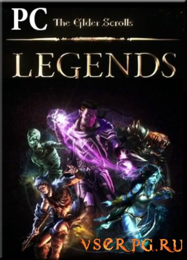 Постер игры The Elder Scrolls Legends