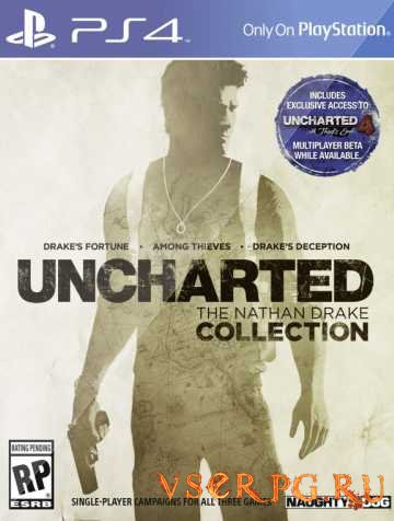 Постер игры Uncharted The Nathan Drake Collection