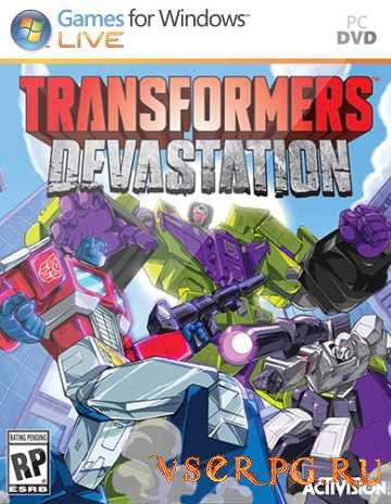 Постер игры Transformers Devastation