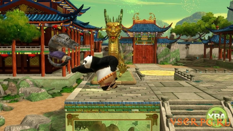 Kung Fu Panda: Showdown of Legendary Legends screen 1