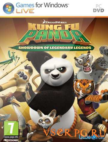 Постер игры Kung Fu Panda: Showdown of Legendary Legends