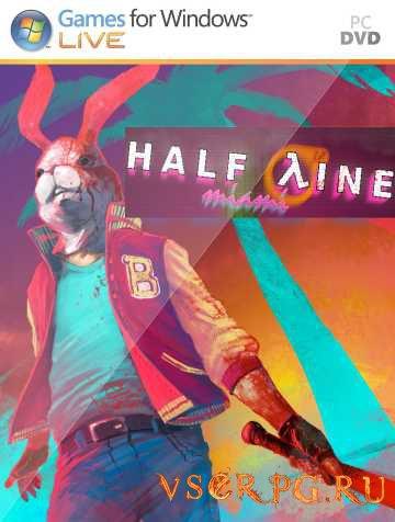 Постер игры Half-Line Miami