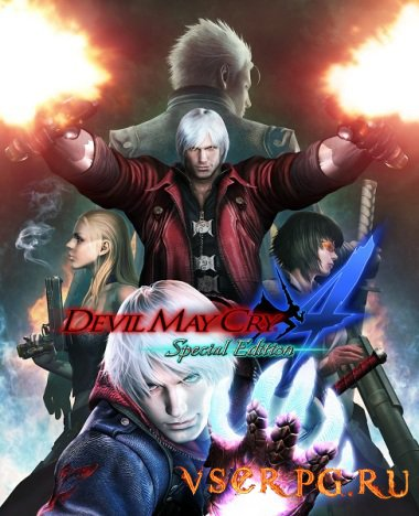 Постер игры Devil May Cry 4: Special Edition