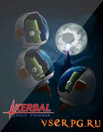 Постер игры Kerbal Space Program