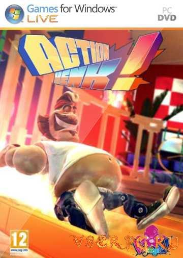 Постер игры Action Henk