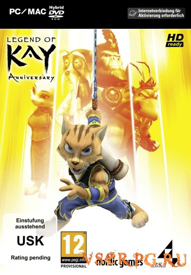 Постер игры Legend of Kay Anniversary