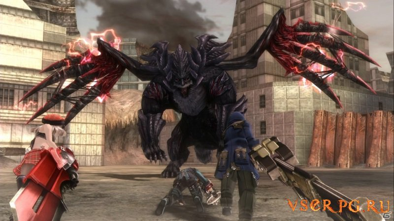 God Eater Resurrection screen 1