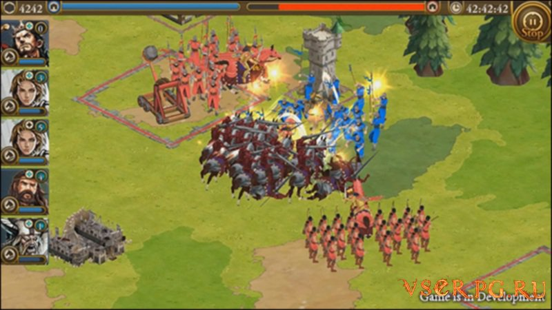 Age of Empires World Domination screen 3