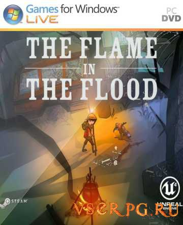 Постер игры The Flame in the Flood