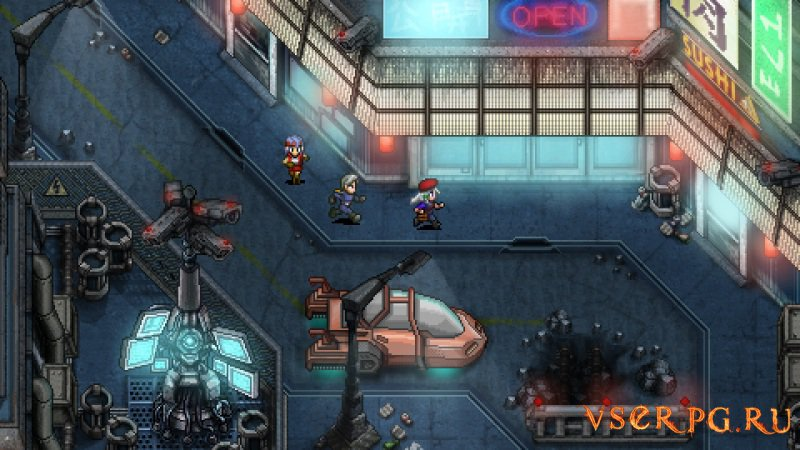 Cosmic Star Heroine PC screen 3