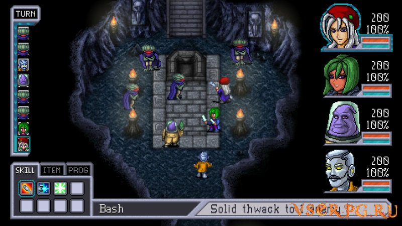 Cosmic Star Heroine PC screen 1