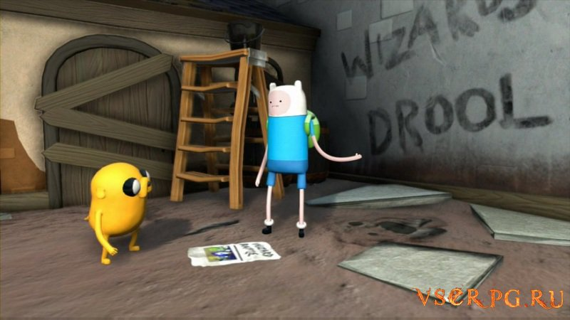 Adventure Time: Finn and Jake Investigations screen 1
