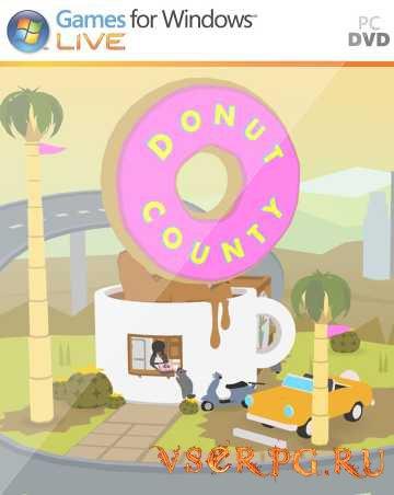 Постер игры Donut County