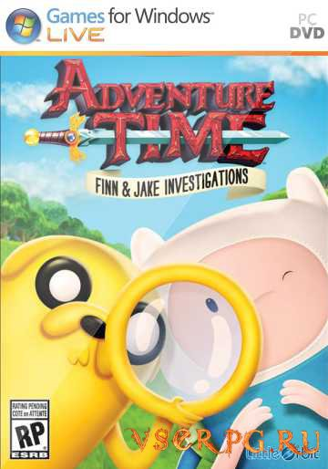 Постер игры Adventure Time: Finn and Jake Investigations