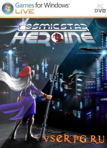 Постер игры Cosmic Star Heroine PC