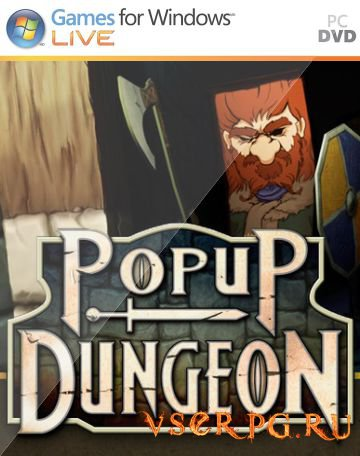 Постер игры Popup Dungeon