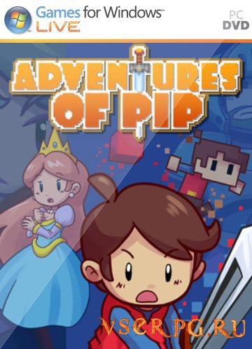 Постер игры Adventures of Pip