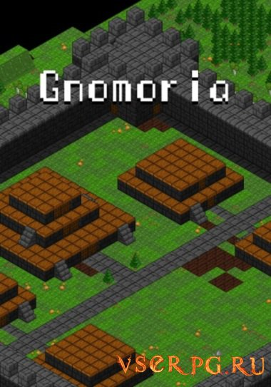 Постер игры Gnomoria