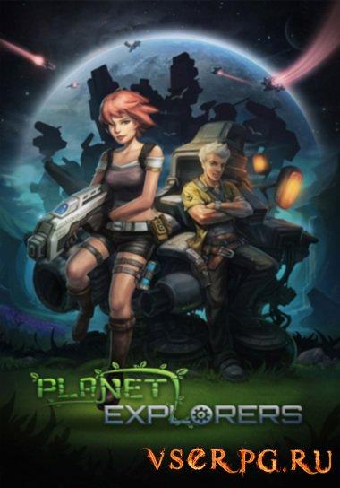 Постер игры Planet Explorers