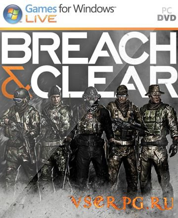 Постер игры Breach & Clear