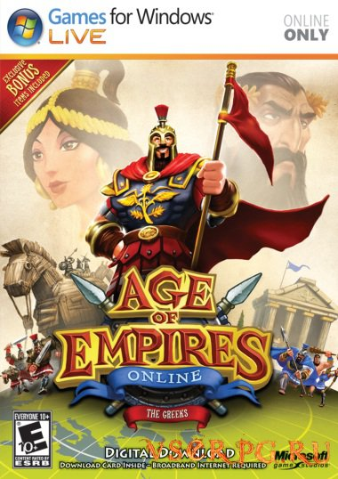 Постер игры Age of Empires Online