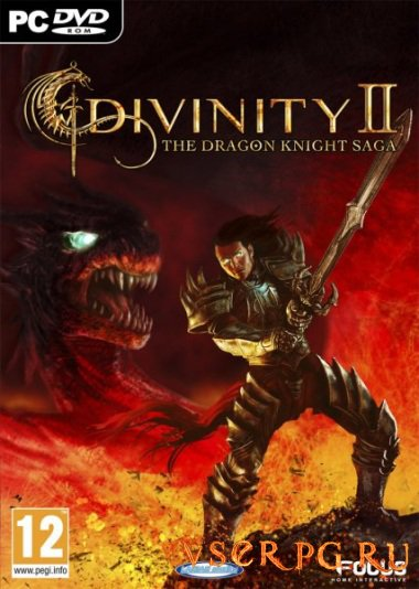Постер игры Divinity 2 The Dragon Knight Saga