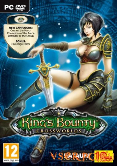 Постер Kings Bounty Crossworlds