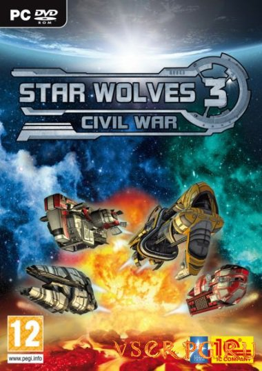 Постер игры Star Wolves 3 Civil War