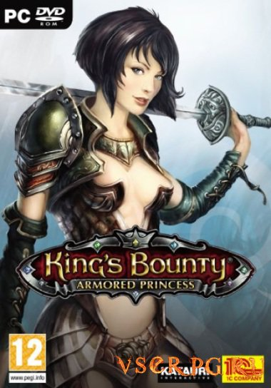 Постер игры Kings Bounty Armored Princess