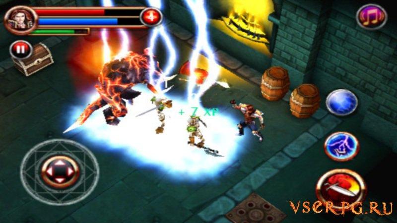 Dungeon Hunter screen 1