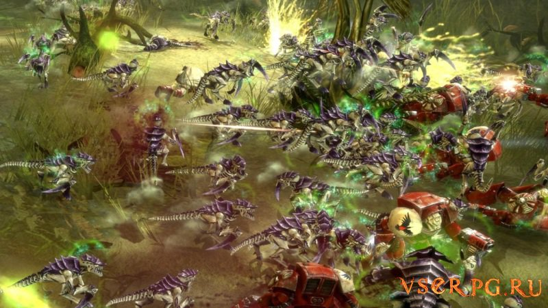 Warhammer 40000: Dawn of War 2 screen 1