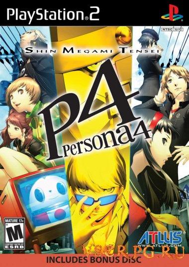 Постер игры Persona 4