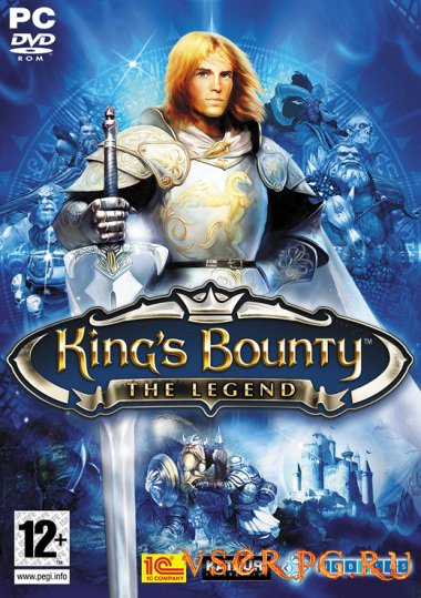 Постер игры Kings Bounty The Legend