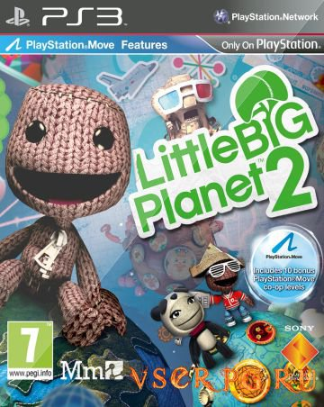 Постер игры Little Big Planet 2