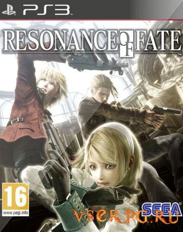 Постер игры Resonance of Fate
