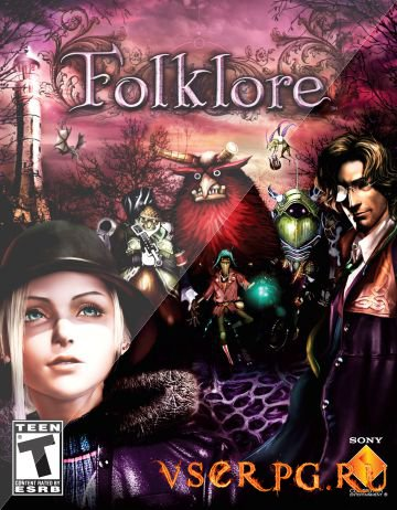 Постер игры Folklore