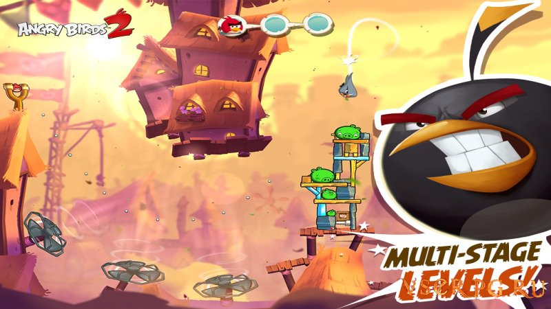 Angry Birds 2 [Android] (2015) screen 2