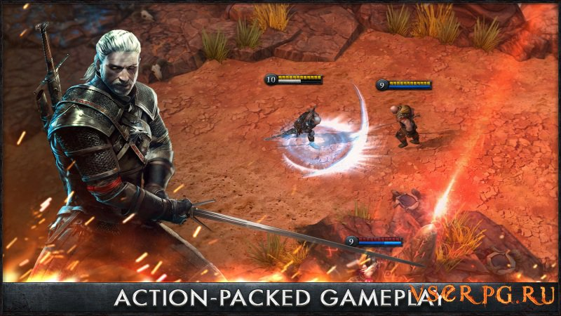 The Witcher Battle Arena [Android] screen 3