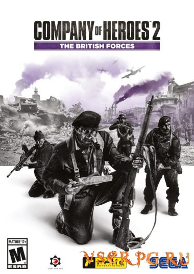 Постер игры Company of Heroes 2: The British Forces