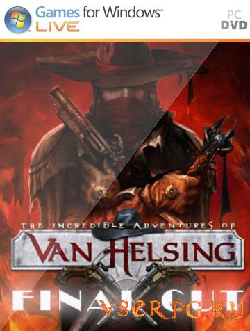Постер игры The Incredible Adventures of Van Helsing Final Cut