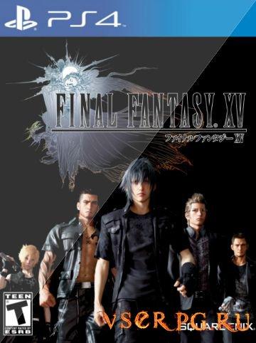 Постер игры Final Fantasy 15