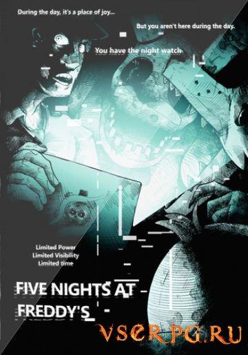 Постер игры Five Nights at Freddys 4
