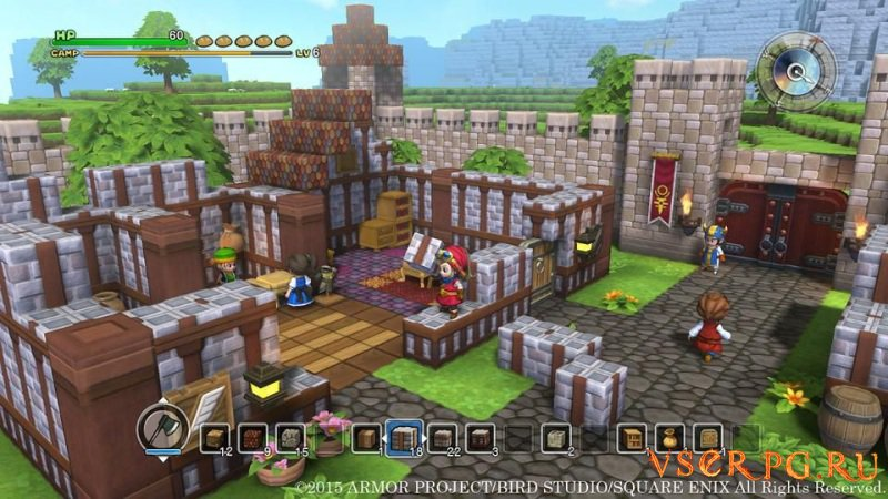 Dragon Quest Builders screen 1