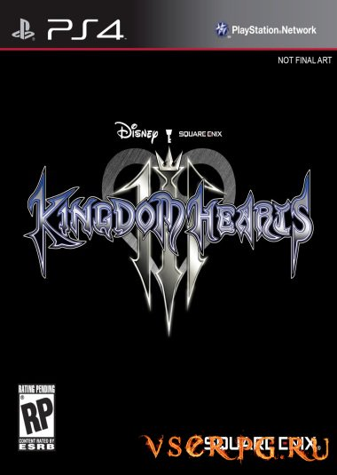 Постер игры Kingdom Hearts 3