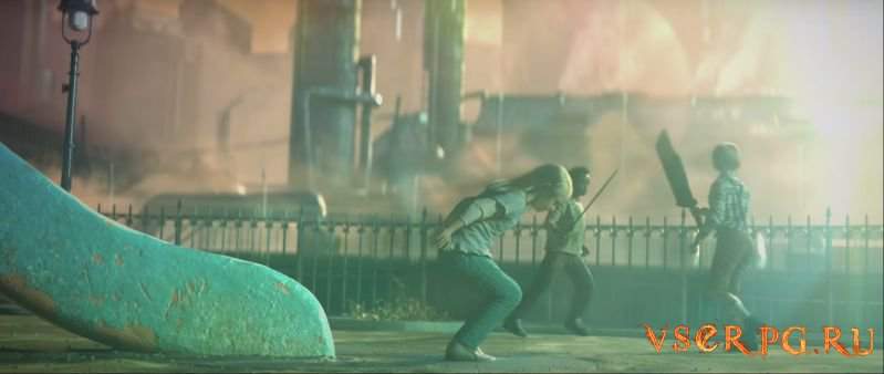 Final Fantasy VII Remake (2015) screen 2